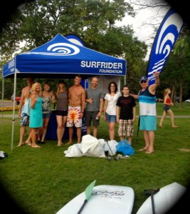 Surfrider International Surfing Day, Lake Calhoun 2013