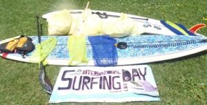 Surfrider International Surfing Day, Lake Nokomis 2012